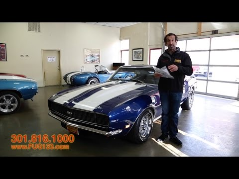 1968 Chevrolet Camaro RS/SS For Sale With Test Drive, Driving Sounds, And Walk Through Video