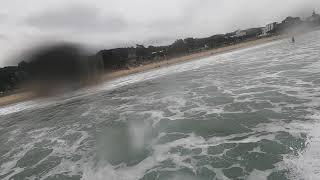 만리포 서핑, 패들보드 서핑 패들아웃, 서핑 40초 라…