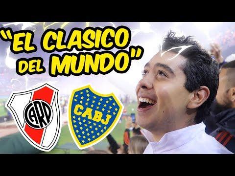 """MEXICANO VIVIENDO """"EL SUPER CLASICO"""" - River Plate - Boca Juniors (2-0) - COPA LIBERTADORES"""