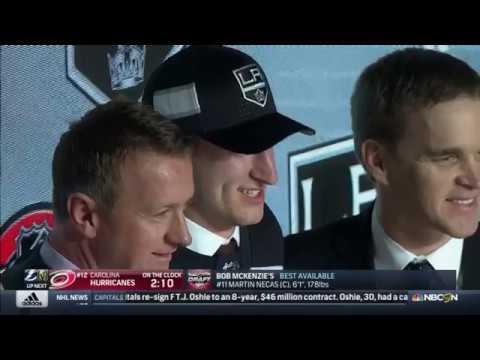 2017 NHL Draft - Round 1, Pick 11 - LA Kings Select Gabriel Vilardi