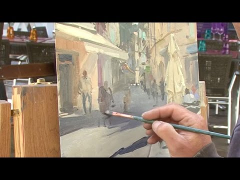 Painting Arles - DVD with Peter Brown