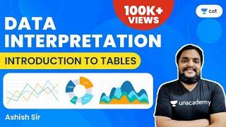 CAT: Introduction to tables  L1  Data interpretation  Unacademy CAT  Ashish Sir
