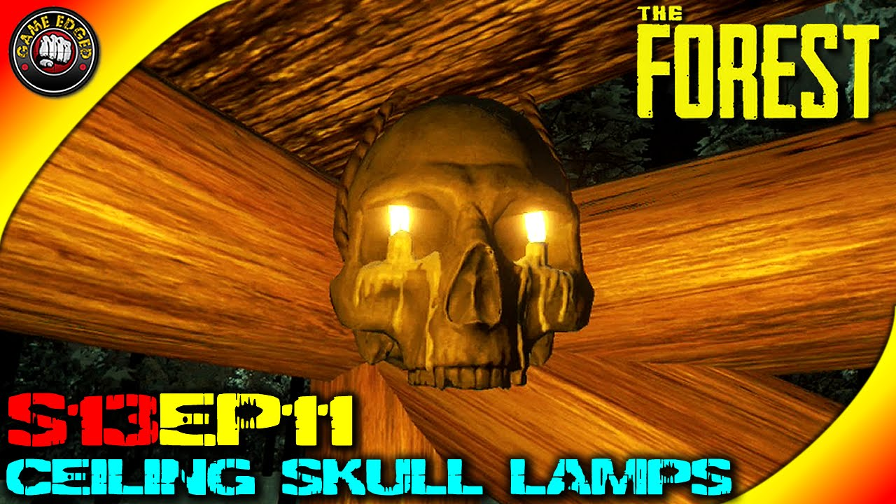 The Forest Gameplay - Bridge Path, New Ceiling Skull Lamp, 2nd ...