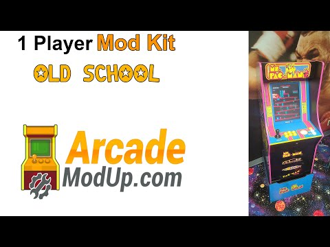 Arcade1Up 1 Player Mod Kit with MagStik Plus from ArcadeModUp