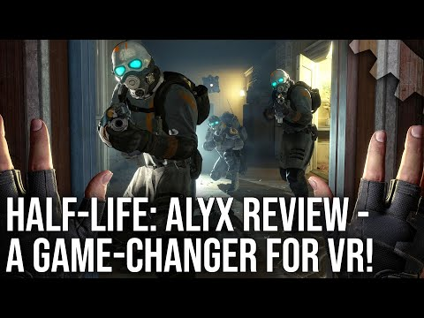 Half-Life: Alyx - The Digital Foundry Tech Review - A Game-Changer For VR?