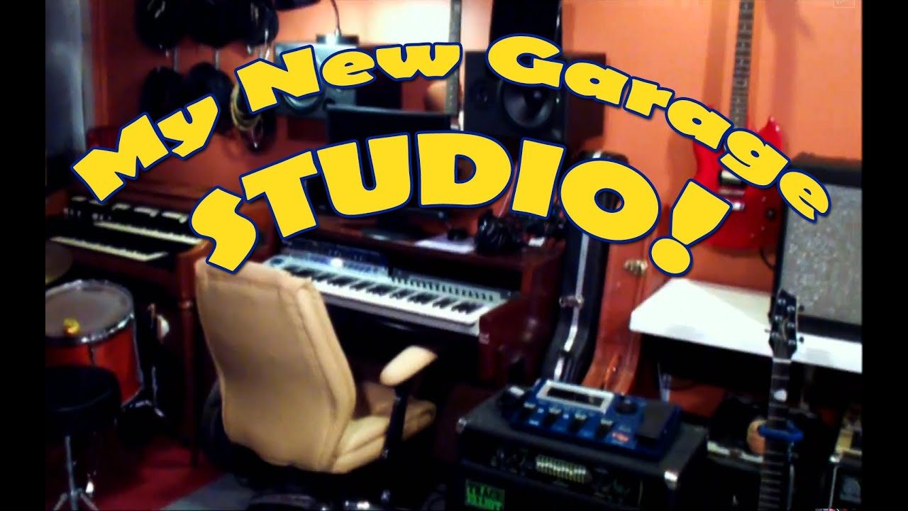 Check Out My Garage Recording Studio YouTube – Garage Recording Studio Plans