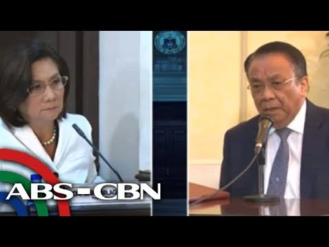 WATCH: Justice Bersamin aims for chief justice post