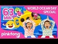 Baby Shark Dance and more | World Oceans Day | +Compilation | Pinkfong Songs for Children Mp3
