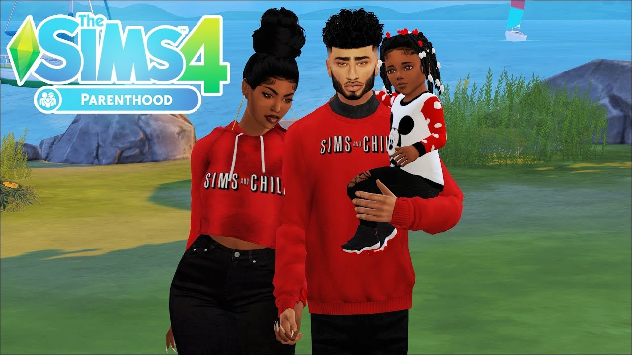Lets Play The Sims 4 Parenthood The Gilliams Episode