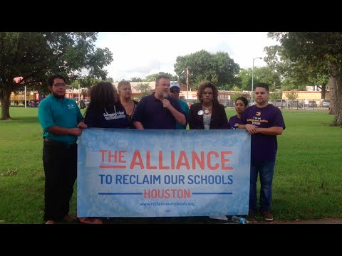 Houston Public Education Advocates Call for Moratorium On Any Additional School Closures