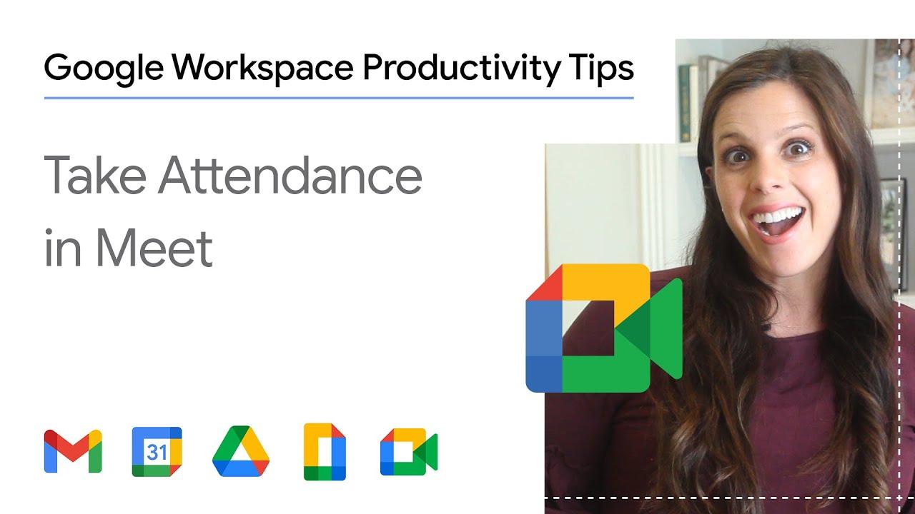 Take attendance in Google Meet