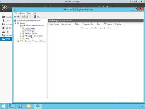 Installing WDS, Windows Deployment Services, on Windows Server 2012 R2