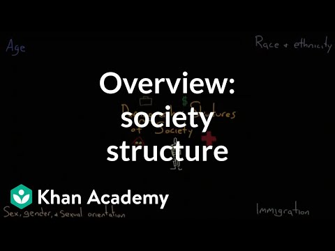 Demographic structure of society overview | Society and Culture | MCAT | Khan Academy