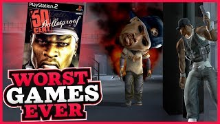 Worst Games Ever - 50 Cent: Bulletproof