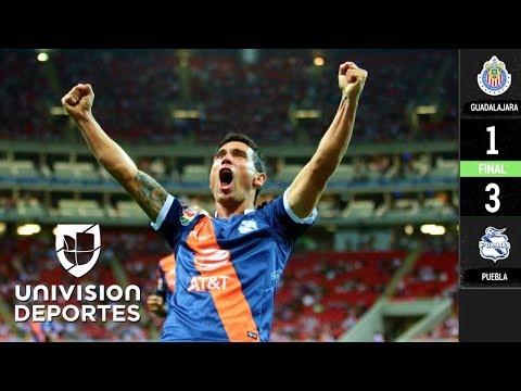 Chivas 1-3 Puebla - RESUMEN Y GOLES – Clausura 2019 Liga MX