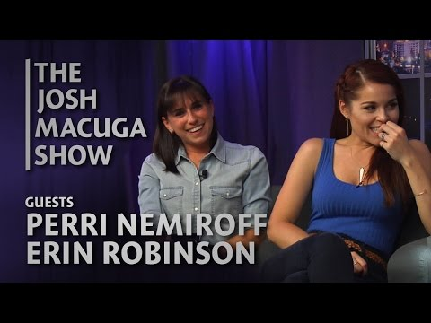 Perri Nemiroff & Erin Robinson - The Josh Macuga Show - Red Carpet Moments