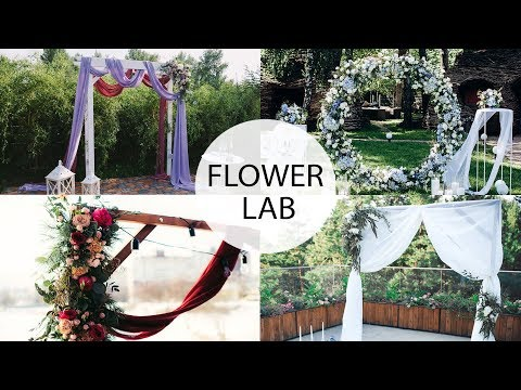 TOP 7 Way How to Decorate a Wedding Arch | DIY WEDDING Ceremony Ideas