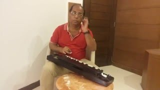 Nagin on Banjo-Traditional musical instrument played by Kamrul Alam