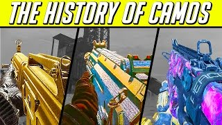 THE HISTORY OF CAMOS in Call of Duty