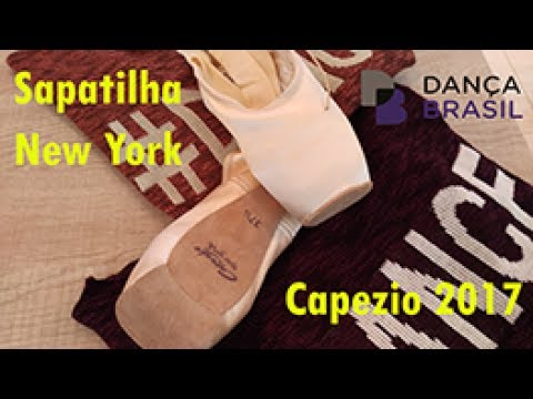 99a108b95a Sapatilha New York - Capezio do Brasil - YouTube