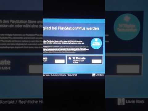 Wie kann man über PlayStation Plus die online Karte einrichten?