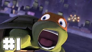 Teenage Mutant Ninja Turtles The Videogame - Part 1 - Booyakasha! (HD Gameplay Walkthrough)