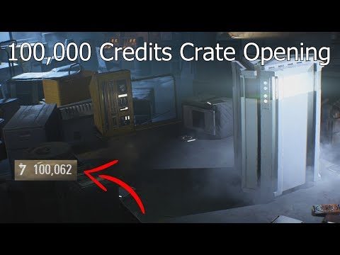 100,000 Credits Loot Crate Opening! - Star Wars Battlefront 2