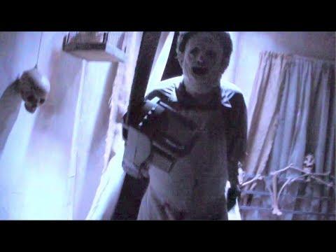 FULL Texas Chainsaw Massacre haunted house at Halloween Horror Nights 2012 Hollywood fragman