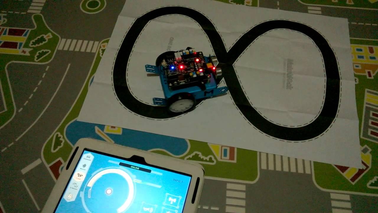 20 Control del mBot Makeblock con un dispositivo Bluetooth mBot App para  Android