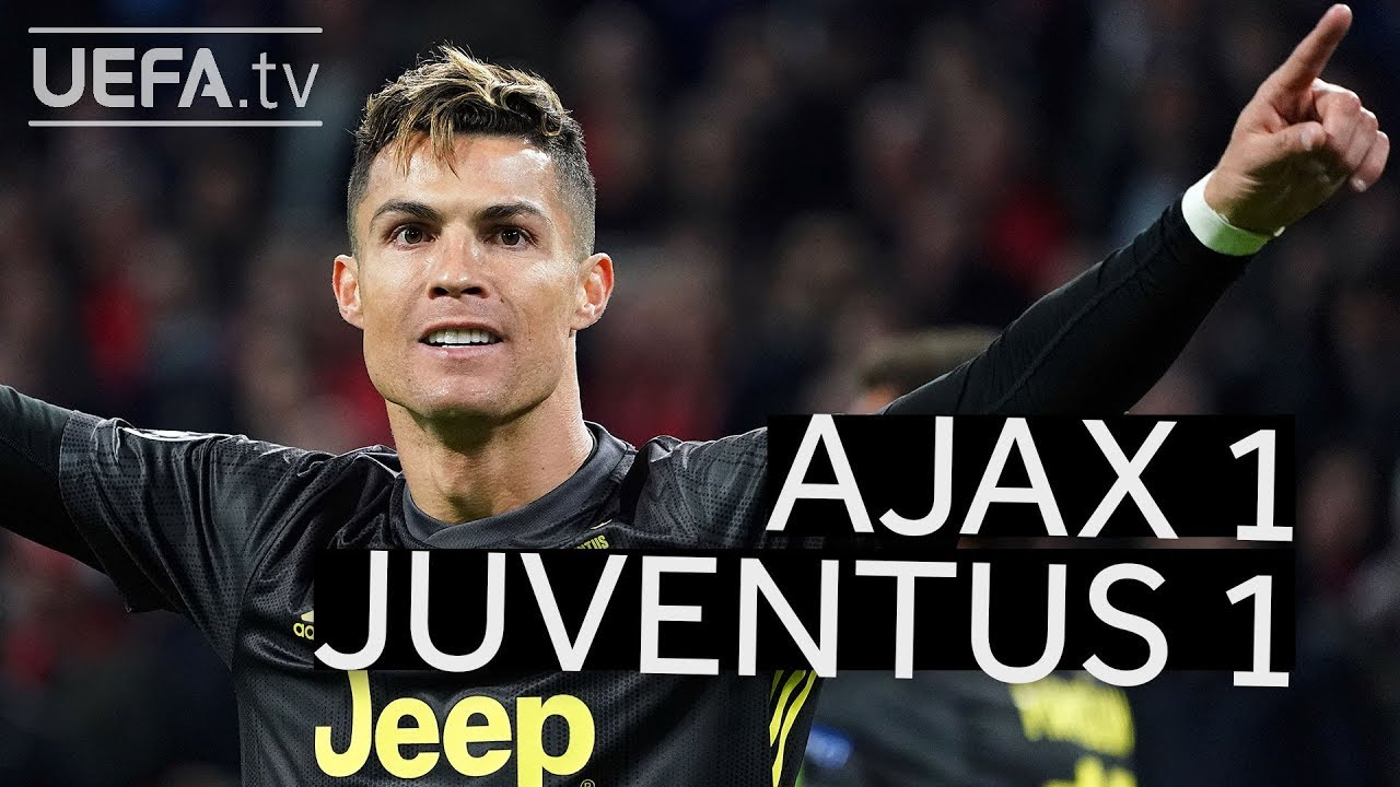 AJAX 1-1 JUVENTUS #UCL HIGHLIGHTS