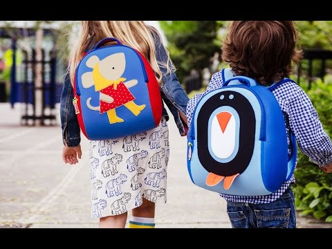 Kid-sized backpacks with personality.