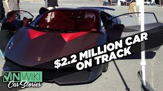 A private track day in the craziest Lamborghini ever made
