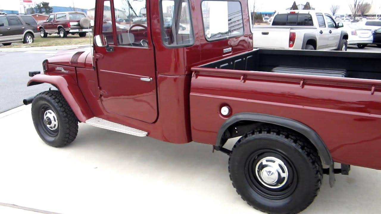 Super Clean 1965 Toyota Land Cruiser Fj Pickup For Sale 1960 77 Sold