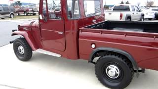 **** SUPER CLEAN 1965 TOYOTA LAND CRUISER FJ PICKUP FOR SALE !!!!!!!!  SOLD !!!!