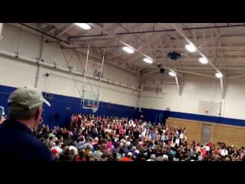 District II Elementary Music Festival. 4/09/2015 at Lewiston Middle School.