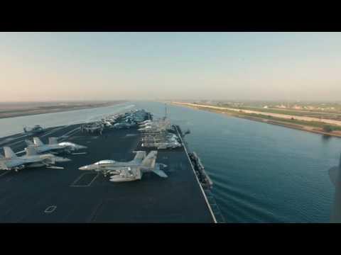 Eisenhower Carrier Strike Group Enters U.S. Fifth Fleet