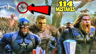 "114 Mistakes In Avengers Endgame - Many Mistakes In ""Avengers: Endgame"" Full Movie"