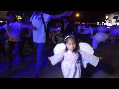 Rosario de Lerma realizó su clásica Marcha Blanca de Todos los Santos