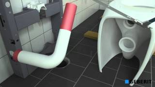 Geberit Monolith, eenvoudige toilet renovatie.
