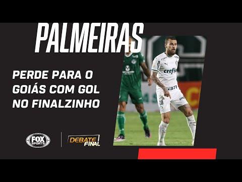 PALMEIRAS PERDE PARA O GOIÁS COM GOL NO FINALZINHO | Debate Final