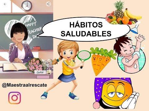 Maestra De Primaria Hábitos De Vida Saludable Planificación Del