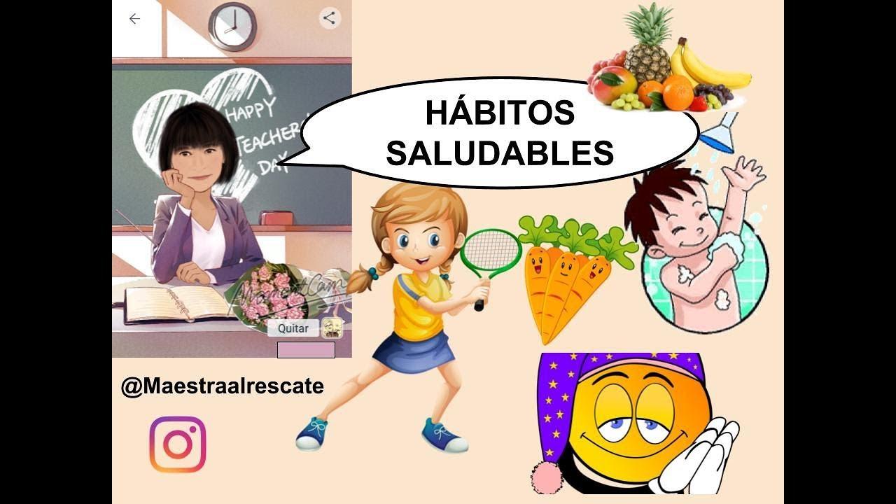 habitos saludables para niños de primaria pdf