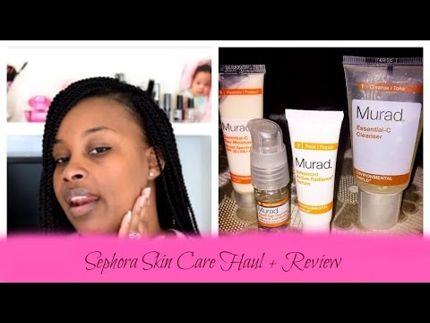 Sephora Haul feat. Murad Skin Care Plus Review