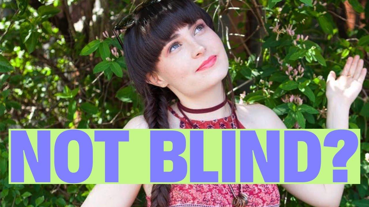 molly burke blind