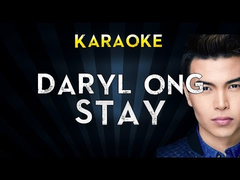 Stay   Daryl Ong  Lyric - daryl ong - stay with lyrics