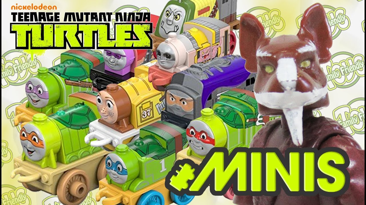 Thomas & Friends Teenage Mutant Ninja Turtles Minis Full Set
