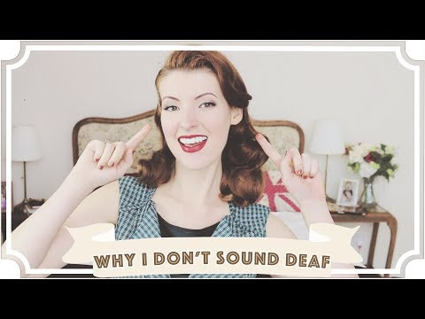Why I Don't Sound Deaf  // International Week Of The Deaf [CC]