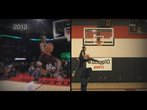Team Flight Brothers Recreated the Best Dunks from the NBA Slam Dunk Contest for SportsCenter