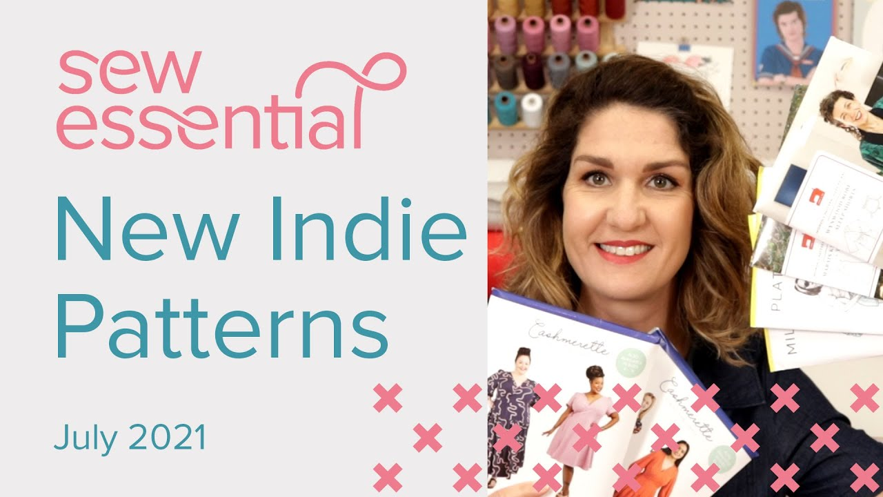 New Indie Sewing Patterns July 2021