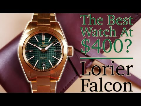 Lorier Falcon Review - The Best Watch At $400? - A Uniquely Inspired & Accessible Adventurer's Watch